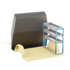 Adjustable Shelf (OFFSIDE) Transit Custom Crew Cab LWB Racking System
