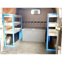 Ford Transit Custom Crew Cab Racking