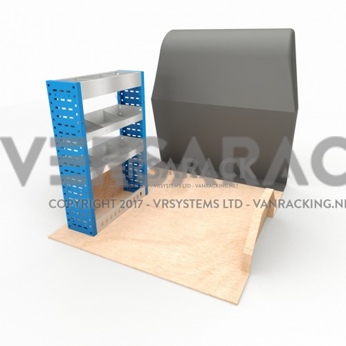 Adjustable Shelf (Nearside) Connect SWB Racking System