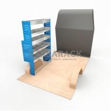 Adjustable Shelf (Nearside) Transit Custom SWB HR Racking System