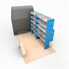 Adjustable Shelf (Offside) Transit Custom SWB HR Racking System
