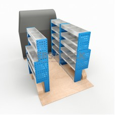 Adjustable Shelf (Full Kit) Transit Custom SWB HR Racking System