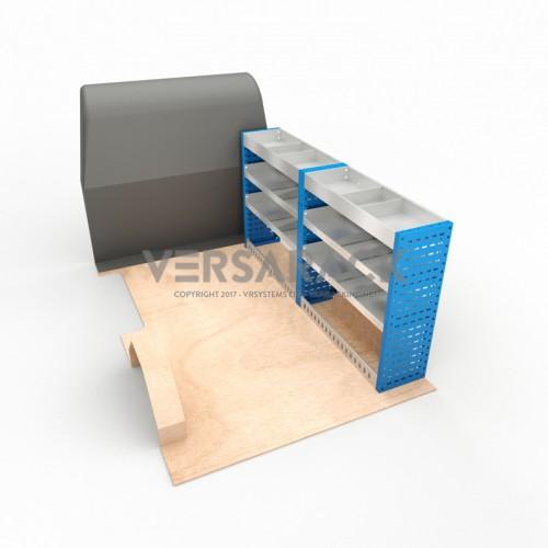 Adjustable Shelf (Offside) Dispatch XSWB Racking System