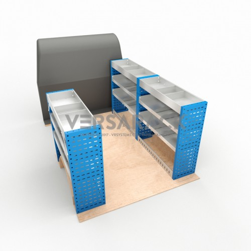 Adjustable Shelf (Full Kit) Primastar SWB Racking System