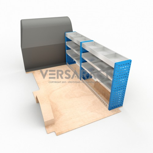 Adjustable Shelf (Offside) Ducato SWB Racking System