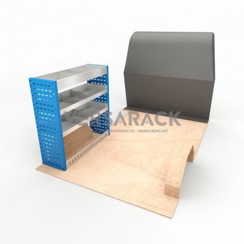 Adjustable Shelf (Nearside) Vivaro 2002 LWB Racking System