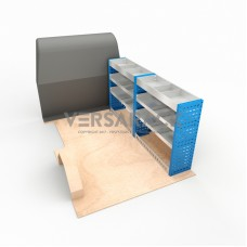Adjustable Shelf (Offside) Dispatch 2007 LWB Racking System