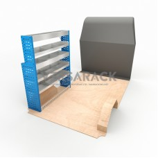 Adjustable Shelf (Nearside) Movano SWB Racking System
