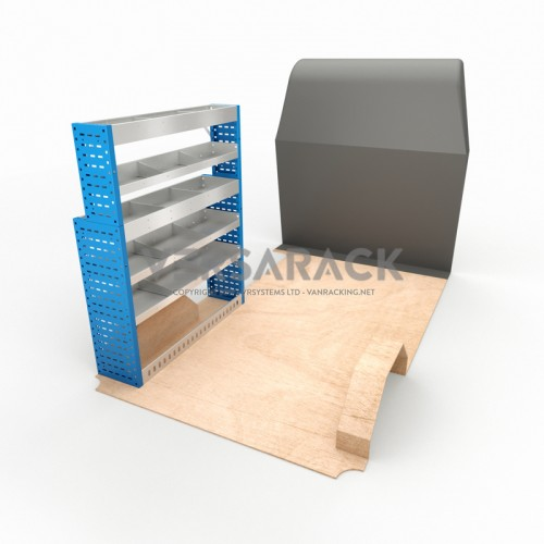 Adjustable Shelf (Nearside) Transit Custom LWB HR Racking System