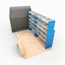 Adjustable Shelf (Offisde) Transit Custom LWB HR Racking System