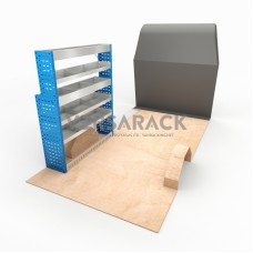 Adjustable Shelf (Nearside) Crafter MWB Racking System