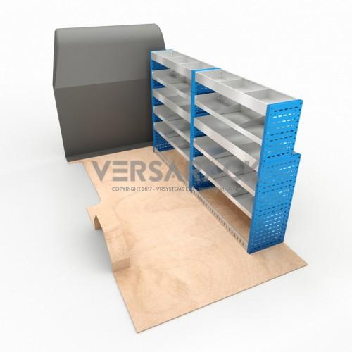 Adjustable Shelf (Offside) Transit LWB Racking System