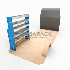 Adjustable Shelf (Nearside) NV400 LWB Racking System