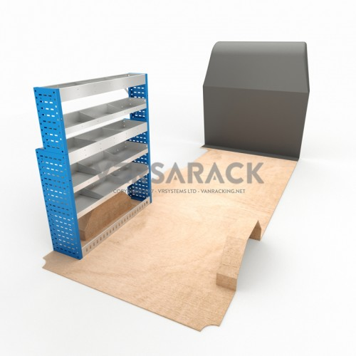 Adjustable Shelf (Nearside) Ducato LWB Racking System