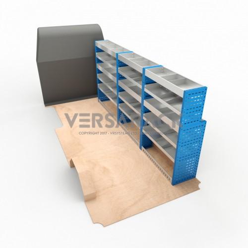 Adjustable Shelf (Offside) Boxer LWB Racking System