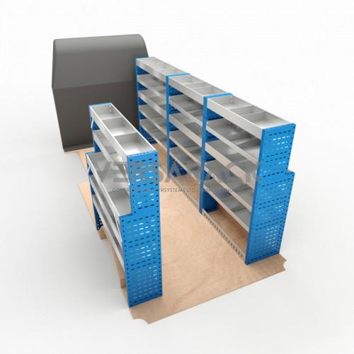 Adjustable Shelf (Full Kit) Movano LWB Racking System