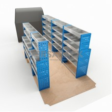 Adjustable Shelf (Full Kit) Sprinter LWB Racking System