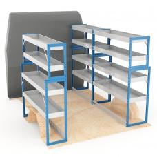 Adjustable Shelf (Full Kit) Sprinter SWB Racking System