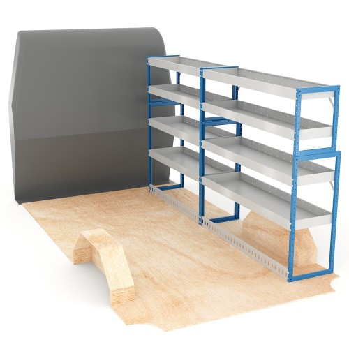 Adjustable Shelf (Offside) Transit MWB Racking System