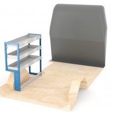 Adjustable Shelf (Nearside) Primastar LWB Racking System