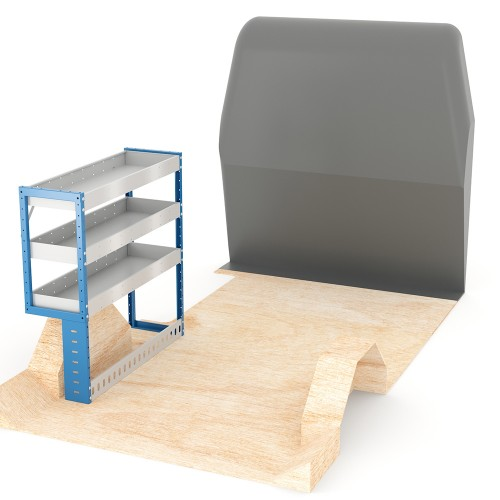 Adjustable Shelf (Nearside) Disptach MWB Racking System