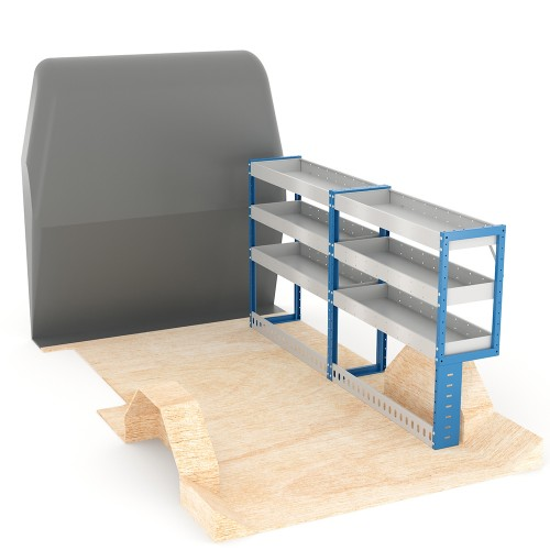 Adjustable Shelf (Offside) Transit Custom SWB Racking System