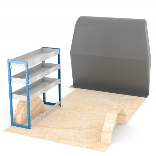 Adjustable Shelf (Nearside) Trafic LWB Racking System