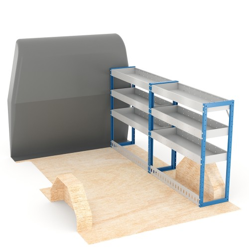 Adjustable Shelf (Offside) Scudo LWB Racking System