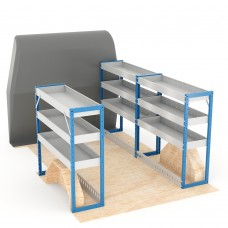 Adjustable Shelf (Full Kit) Vivaro SWB Racking System