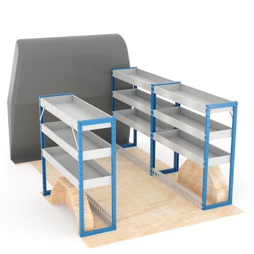 Adjustable Shelf (Full Kit) Trafic SWB Racking System