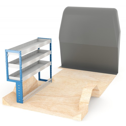 Adjustable Shelf (Nearside) Transit Custom SWB Racking System