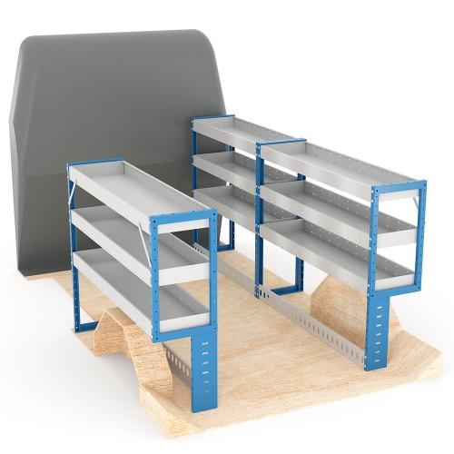 Adjustable Shelf (Full Kit) Transit Custom LWB Racking System