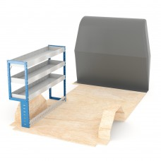 Adjustable Shelf (Nearside) Boxer SWB Racking System