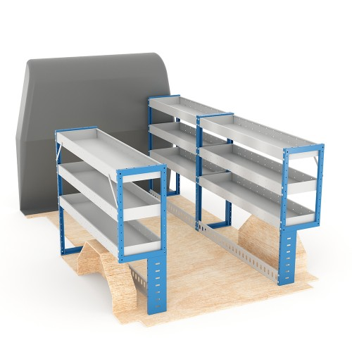Adjustable Shelf (Full Kit) Boxer SWB Racking System