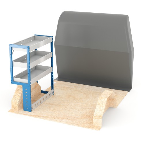 Adjustable Shelf (Nearside) Caddy SWB Racking System