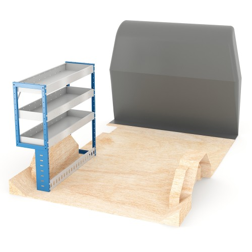 Adjustable Shelf (Nearside) Dispatch XSWB Racking System
