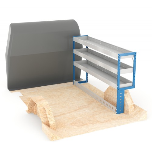 Adjustable Shelf (Offside) Dispatch XSWB Racking System