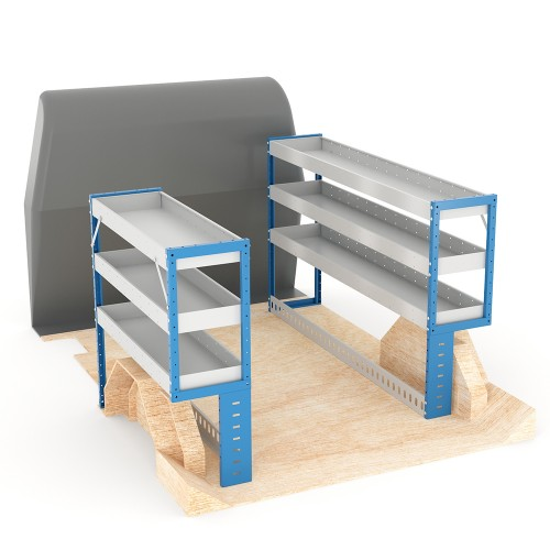 Adjustable Shelf (Full Kit) Caddy LWB Racking System