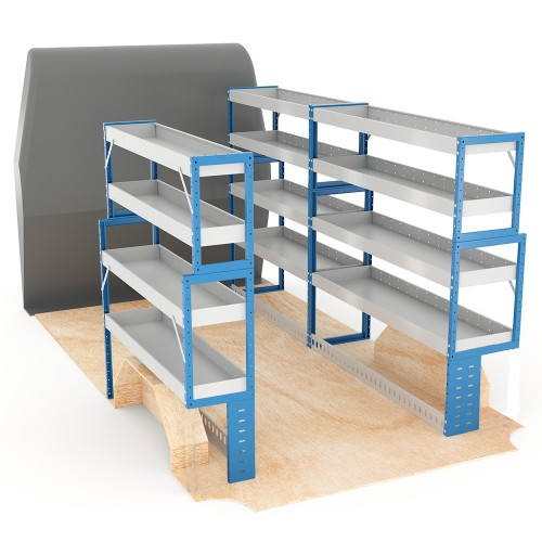 Adjustable Shelf (Full Kit) Sprinter LWB Racking System