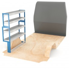 Adjustable Shelf (Nearside) Ducato LWB Racking System