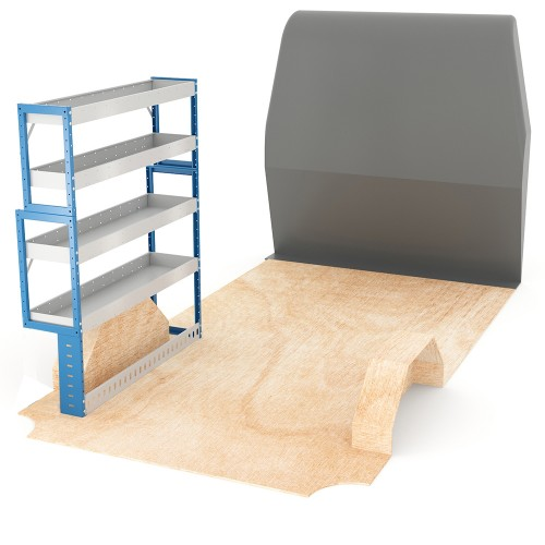 Adjustable Shelf (Nearside) Crafter LWB Racking System