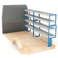 Adjustable Shelf (Offside) Ducato LWB Racking System