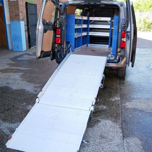 Pressure Washer Service Van Racking