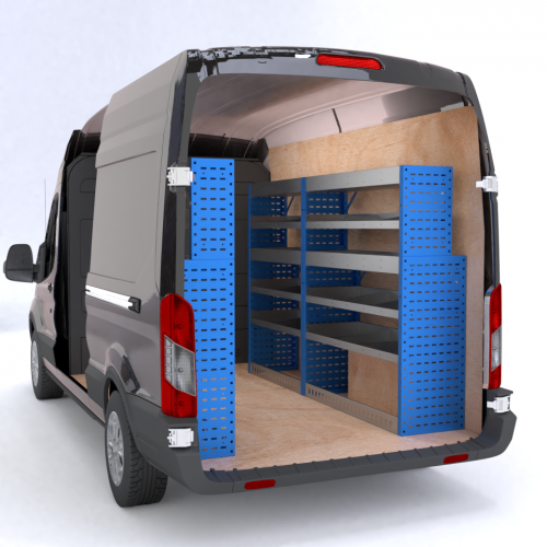 3D Van Racking Design Service