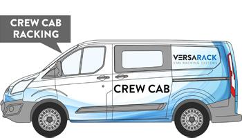 Transit Custom Crew Cab Van Racking