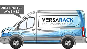 Transit MWB Van Racking 2014 on