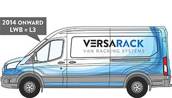 Transit LWB Van Racking 2014 on