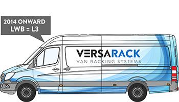 VW Crafter LWB Van Racking