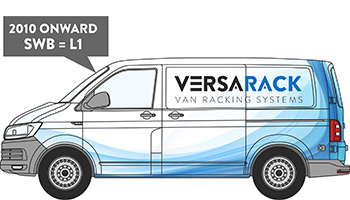 Volkswagen Transporter SWB Van Racking