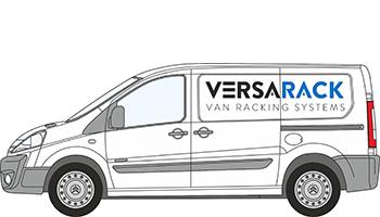 Citroen Dispatch Van Racking